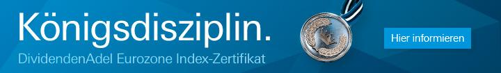 Deutsche Bank DividendenAdel Eurozone Zertifikat
