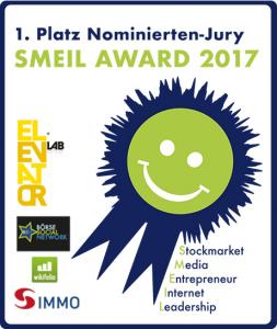 SMEIL Award 2017 Sieg Nominierten-Jury