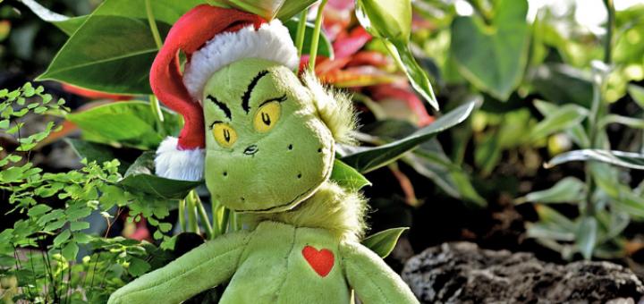 Weihnachtsrally Header Grinch
